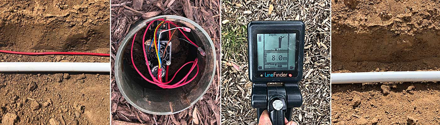 locating underground irrigation systems using the right equipment